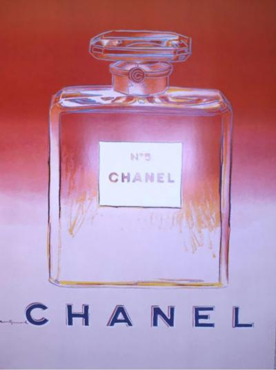 Andy Warhol Chanel N 5 Original Poster