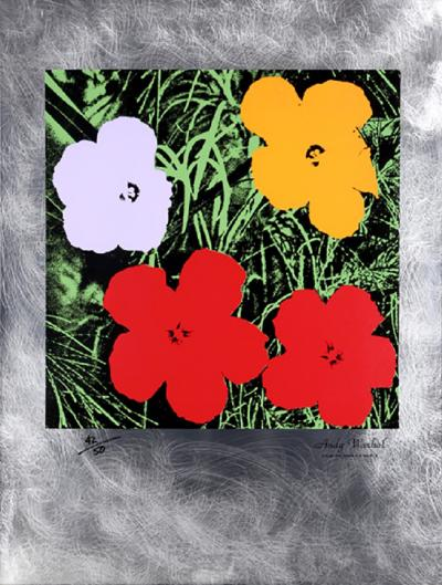 Andy Warhol Flowers Master American Contemporaries II