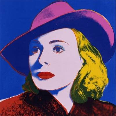 Andy Warhol Ingrid Bergman with Hat FS II 315