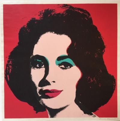 Andy Warhol Liz FS II 7