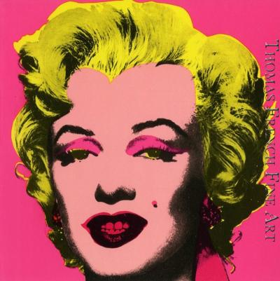 Andy Warhol Marilyn Invitation Castelli Graphics