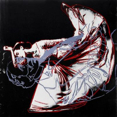 Andy Warhol Martha Graham