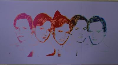 Andy Warhol Miguel Bose