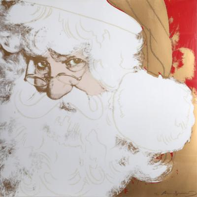 Andy Warhol Santa from the MYTHS Portfolio