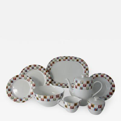 Andy Warhol Set of 24 Place Settings Andy Warhol Some Like It Hot Marilyn Dinnerware