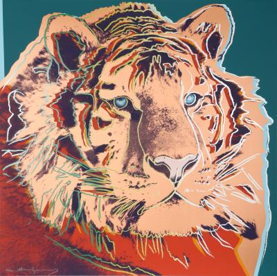 Andy Warhol Siberian Tiger from Endangered Species
