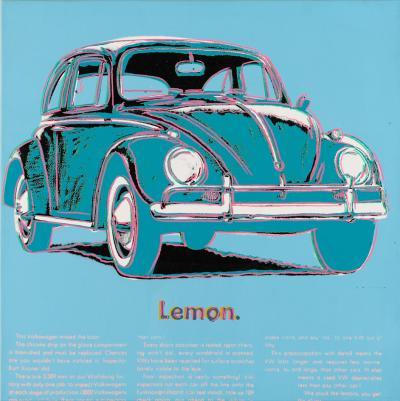 Andy Warhol Volkswagen