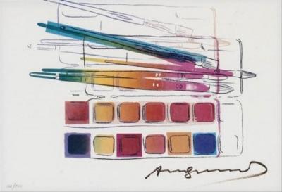 Andy Warhol Watercolor Paint kit