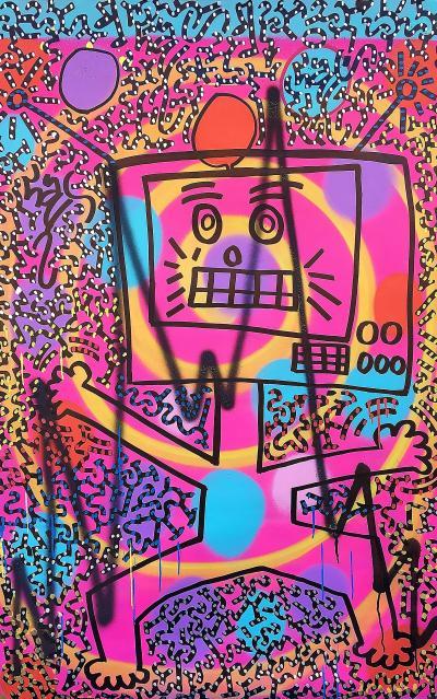 Angel Ortiz LA Roc LA II Wacky Robot