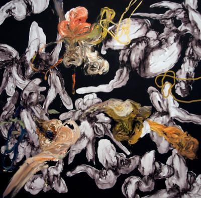 Angel Ricardo Rios Pintura Negra