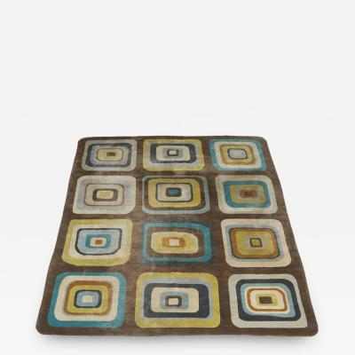 Angela Adams Geometric Custom Designed Wool Area Rug