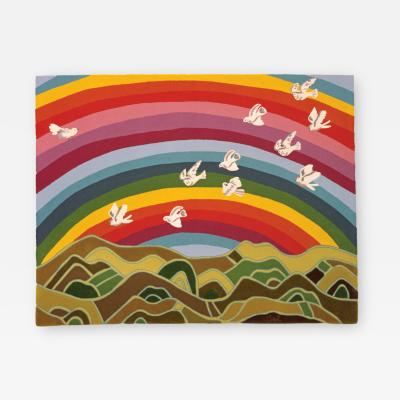 Angela Adams Rainbow Tapestry Area Rug