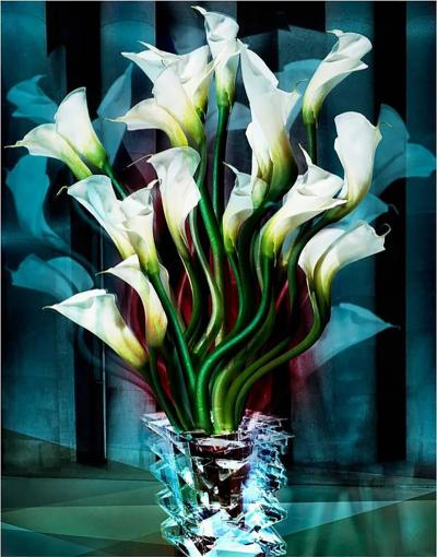 Angelika Buettner Angelika Buettner Calla Lilies 2005 limited edition