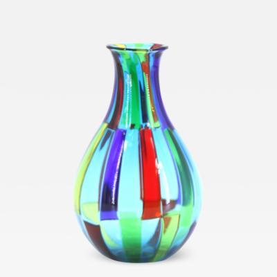Angelo Ballarin Angelo Ballarin Murano Pezzato vase made in Murano