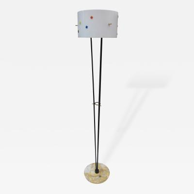 Angelo Brotto A Floor Lamp by Angelo Brotto Italy 1960