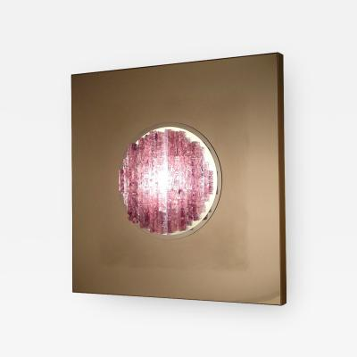 Angelo Brotto Angelo Brotto Sensazione Quasar Sculptural Wall Light for Esperia 1970