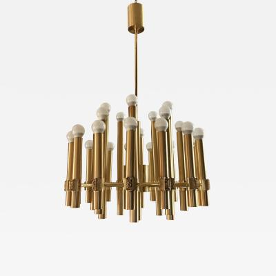 Angelo Brotto Exeptional Chandelier or Sputnik by Angelo Brotto for Esperia Italia