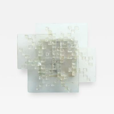 Angelo Brotto Italian Modern Glass Wall Light Angelo Brotto