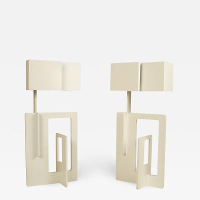 Angelo Brotto Pair of Angelo Brotto Table Lamps circa 1970 Italy