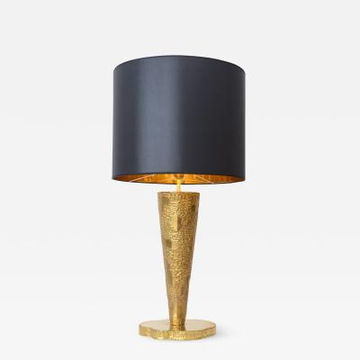 Angelo Brotto Sculptural Table Lamp in the Manner of Angelo Brotto c 1970