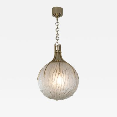 Angelo Brotto Vintage Italian Pendant Light by Angelo Brotto