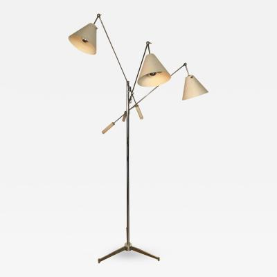 Angelo Lelii Angelo Lelli Triennial Floor Lamp