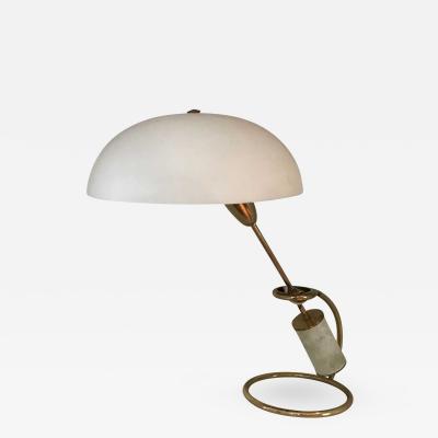 Angelo Lelii Early Angelo Lelii for Arredoluce Brass Table Lamp