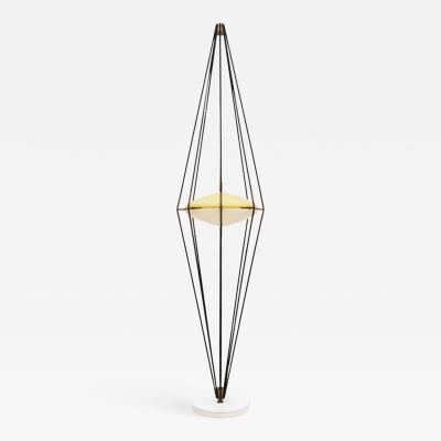 Angelo Lelii Lelli Angelo Lelli And Ettore Sottsass MidCentury Modern Arredoluce Italian Floor Lamp
