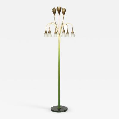 Angelo Lelii Lelli No 77 Rare Floor Lamp by Angelo Lelii for Arredoluce
