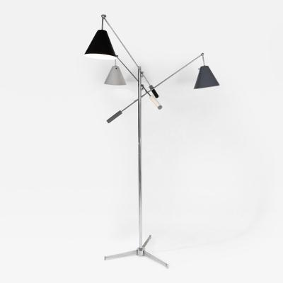 Angelo Lelii Lelli Triennale floor lamp