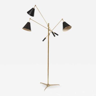 Angelo Lelii Lelli Triennale standing lamp