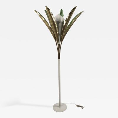 Angelo Lelii Palm Floor Lamp by Angelo Lelii for Arredoluce
