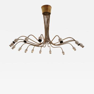 Angelo Lelli A Ceiling Lamp by Angelo Lelli Italy 1950
