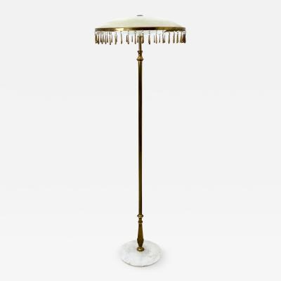 Angelo Lelli Brass Floor Lamp Mod 12477 by Angelo Lelli Produced by Arredoluce Italy 1955