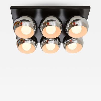 Angelo Lelli Lelii Angelo Lelli Mirage Flush Ceiling Light for Arredoluce
