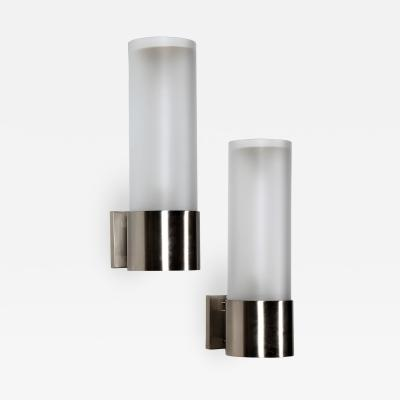Angelo Lelli Lelii Pair of Wall Lamps MidCentury by Angelo Lelli for Arredoluce 1965s