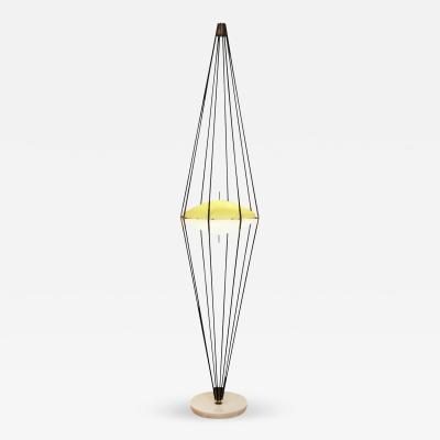Angelo Lelli Rare Floor Lamp by Angelo Lelli for Arredoluce