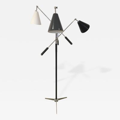 Angelo Lelli Trienale Floor Lamp by Angelo Lelli for Arredoluce 1950s
