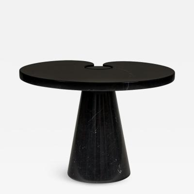 Angelo Mangiarotti Angelo Mangiarotti Black Marquina Marble Eros Side Table for Skipper