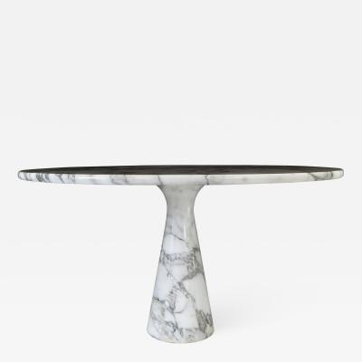 Angelo Mangiarotti Angelo Mangiarotti Carrara Marble Dining Table Model M1 T70