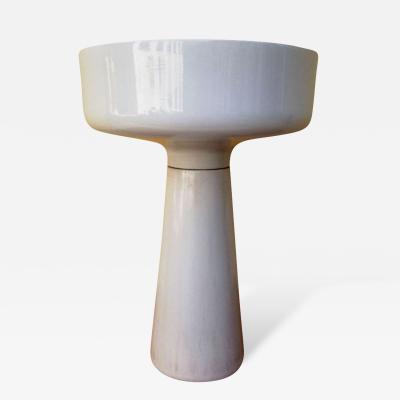 Angelo Mangiarotti Angelo Mangiarotti Ceramic Standing Planter