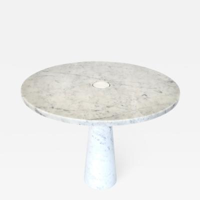 Angelo Mangiarotti Angelo Mangiarotti Eros for Skipper Carrara Marble Dining or Center Table