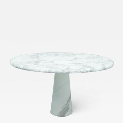 Angelo Mangiarotti Angelo Mangiarotti Marble Dining Table Italy 1970s
