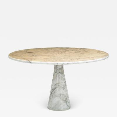 Angelo Mangiarotti Angelo Mangiarotti Marble Dining Table by Skipper Italy