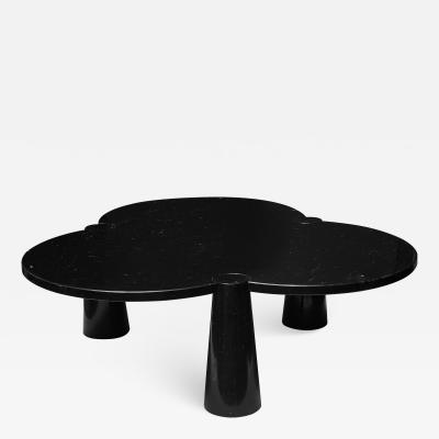 Angelo Mangiarotti Angelo Mangiarotti Margherita Black Marquina Marble Coffee Table