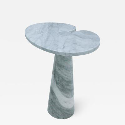 Angelo Mangiarotti Angelo Mangiarotti Mid Century Modern Serie Eros Marble Italian Side Table