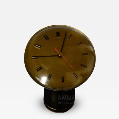 Angelo Mangiarotti Angelo Mangiarotti Table Desk Clock for Secticon