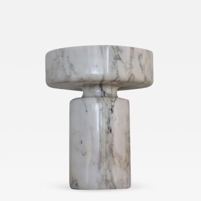 Angelo Mangiarotti Angelo Mangiarotti for Knoll Calacutta Marble Vase