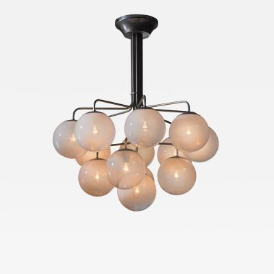 Angelo Mangiarotti Angelo Mangiarotti model A355 chandelier for Candle