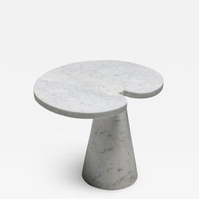 Angelo Mangiarotti Mangiarotti Carrara Marble Side Table Eros series for Skipper 1970s